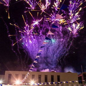 HUGE fireworks spectacular that will go for 12 minutes
